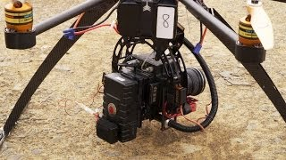Download Drone Octocopter with Red Epic 100fps Video