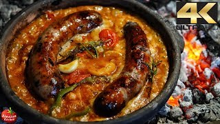 Download Epic Beans & Sausage - Tavce 4K Cooking Video