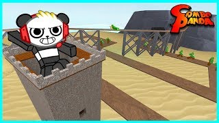Download Roblox Tower Defense TANK BATTLE Let's Play with Combo Panda Video