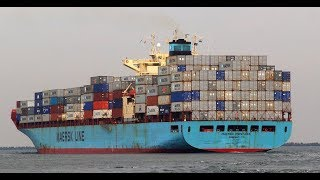 Download Onboard Maersk Container Ship (HD 60fps) Video