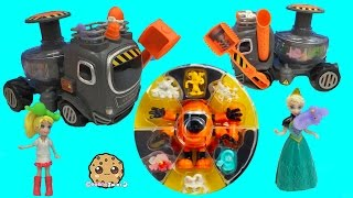 Download Squishy Stretchy Fungus Amungus Bio Buster Super Set , VAC Pack , The Yuck Truck Playset Video