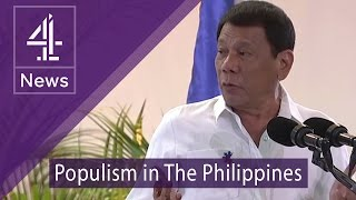 Download Philippines' president Rodrigo Duterte challenged on War on Drugs Video