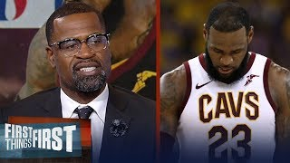 Download Stephen Jackson on LeBron's 2018 Finals vs those of MJ and Kobe | NBA | FIRST THINGS FIRST Video