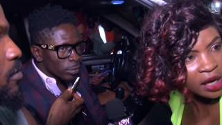 Download Shatta Wale Arrival at Kotoka International Airport from London Video