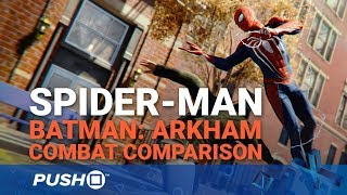 Download Marvel's Spider-Man PS4: How Does the Combat Compare to Batman: Arkham?   PlayStation 4 Video