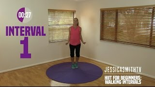Download HIIT for Beginners: Walking Interval Cardio Workout, Low Impact, Fat Burning Video