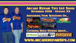 Download Arcade Repair Tips - Live Show - Episode 33 Video