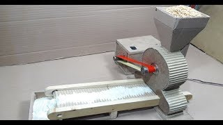Download Amazing Mini Flour Mill Make At Home With Cardboard Video