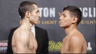 Download SLIGHTLY INTENSE! SCOTT QUIGG v JOSE CAYETANO - OFFICIAL WEIGH IN & HEAD TO HEAD / JOSHUA v MOLINA Video
