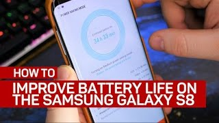 Download 4 ways to improve battery life on the Galaxy S8 Video