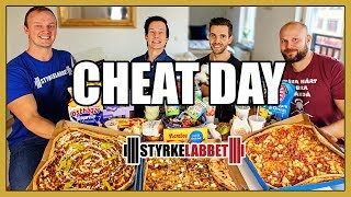 Download Sveriges STÖRSTA Cheat day!? Med Styrkelabbet Video