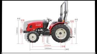 Download 국내최저가 42마력 착한가격 트랙터 tractor Video