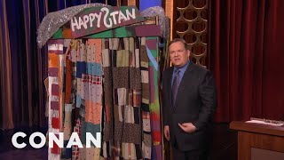 Download Andy Richter's Euphoric Trip To Happystan - CONAN on TBS Video