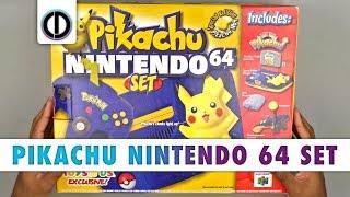 Download Pikachu Nintendo 64 Set (Unboxing) Video