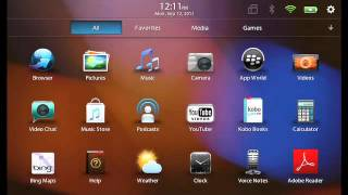 Download Changing your BlackBerry ID on the BlackBerry PlayBook Video