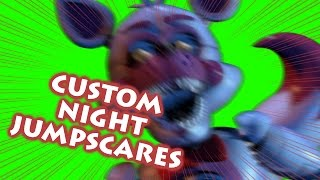 Download ALL CUSTOM NIGHT JUMPSCARES | Greenscreen Jumpscares | Sister Location Custom Night | v1.1 Update Video