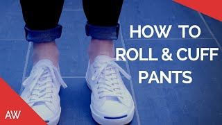 Download How To Cuff/Roll Pants - Men's Fashion & Style Tips - Chinos, Jeans, Joggers, Pinroll, Denim Video