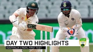 Download India bowlers fightback has Test poised | First Domain Test Video