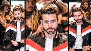 Download AWESOME Volume Quiff | Mens Haircut and Hairstyle 2018 | BluMaan 2018 Video