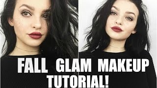 Download FALL GLAM DRUGSTORE MAKEUP TUTORIAL! | Video