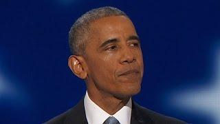 Download Full Speech: President Obama addresses the DNC Video
