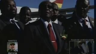 Download Robert Mugabe: Fidel es el líder de todos los revolucionarios Video