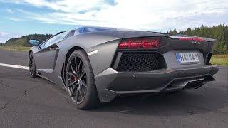 Download Lamborghini Aventador LP700-4 Roadster Pirelli Edition - Brutal Sounds! Video
