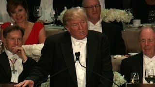 Download Donald Trump's entire speech at the Al Smith dinner Video