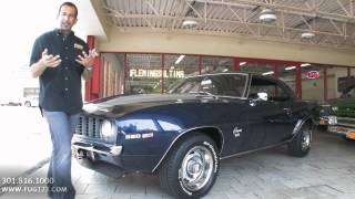 Download 1969 Chevrolet Camaro SS350 for sale with test drive, driving sounds, and walk through video Video