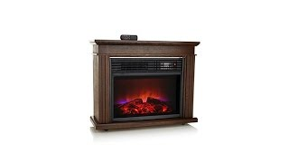 Download FlameFX Fireplace Heater with Remote Video