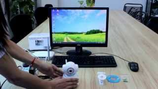 Download Wanscam P2P Security Wireless IP Camera Set up Video Video