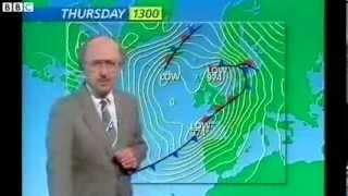 Download BBC Michael Fish 15th October 1987 hurricane forecast full version! Video