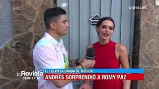 Download Andrés y su 'bandazo' en la casa de la reina del carnaval 2020, Romy Paz Video