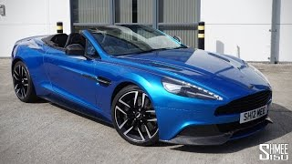 Download COLLECTING MY ASTON MARTIN VANQUISH VOLANTE - A Perfect Grand Tourer Video