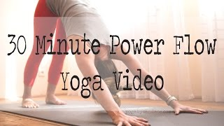 Download 30 minute power yoga flow Video