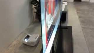 Download 100″ Ultrashort Rear Projection Screen Video