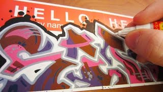 Download Hello My Name Is Graffiti Video