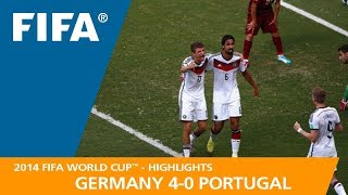 Download GERMANY v PORTUGAL (4:0) - 2014 FIFA World Cup™ Video