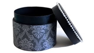 Download How to Make a Gift Box - DIY Round Box With Lid Video