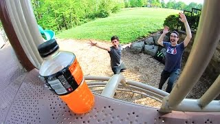 Download EXTREME PLAYGROUND BOTTLE FLIPPING! Video