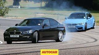 Download Petrol BMW M3 vs diesel Alpina D3 - fast saloon showdown Video