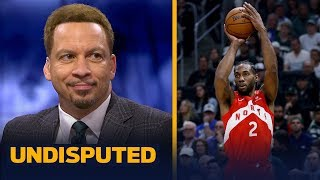 Download Chris Broussard reacts to Kawhi Leonard's 35-pt performance in Game 5 | NBA | UNDISPUTED Video