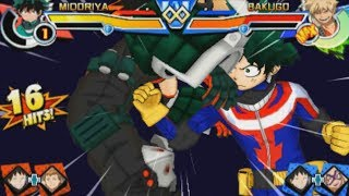 Download My Hero Academia Battle for All Combo Video 僕のヒーローアカデミア バトル・フォー・オール コンボ Video