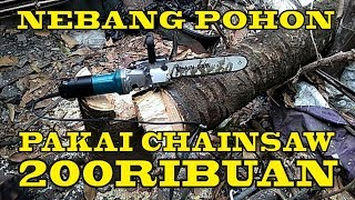 Download Simple Nebang Pohon Pakai Chainsaw Mini Video