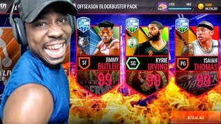 Download 99 OVR KYRIE IRVING & ISAIAH THOMAS OFFSEASON LEGENDS! NBA Live Mobile Gameplay Pack Opening Ep. 161 Video