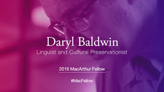 Download Linguist and Cultural Preservationist Daryl Baldwin | 2016 MacArthur Fellow Video