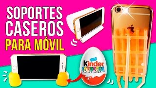 Download 10 INCREIBLES Soportes CASEROS para 📱MÓVIL o CELULAR 📱con materiales SORPRENDENTES * LIFE HACKS Video