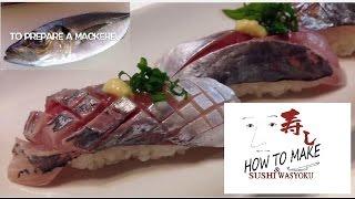 Download How to make sushi(horse mackerel)STEP2 sushi.Japanese sushi chef of professional Video