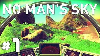 Download No Man's Sky Gameplay - Ep. 1 - Explore, Survive, Craft, and Lazers! - Let's Play No Mans Sky Game Video