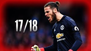 Download David De Gea ● Saves Compilation ● 2017/18|Manchester United|HD Video